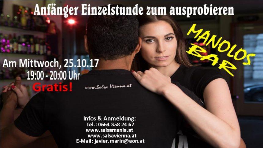 Schnupperstunde-Salsa Anfänger 19-20 Uhr Am 25.10.17 Gratis!