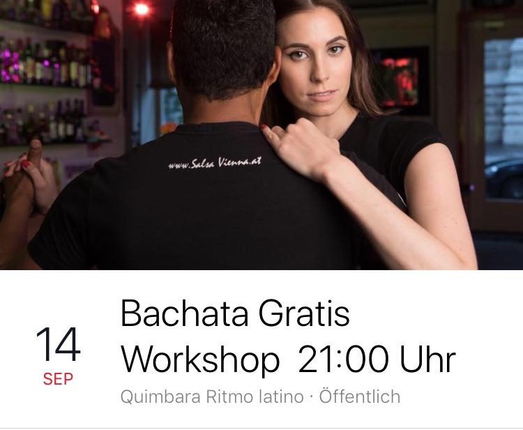 Bachata Workshop Gratis ab 21:00 Uhr
